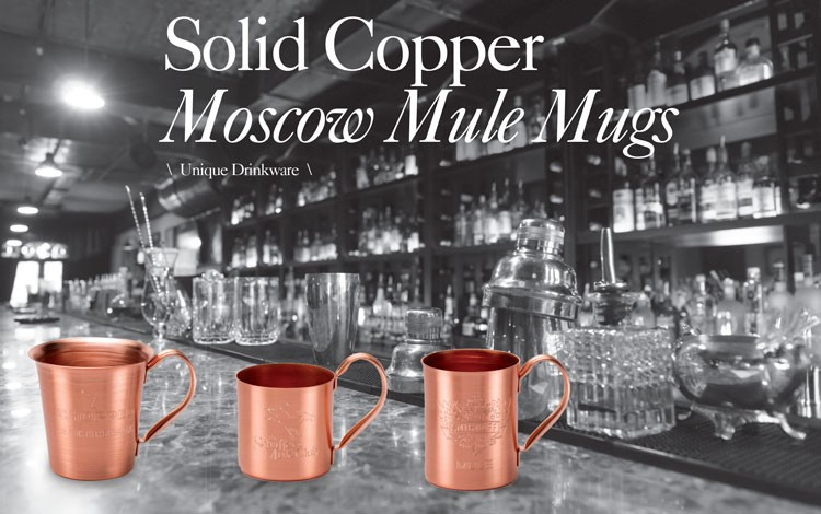 100% Solid Copper Drinkware   Oct 29, 2015