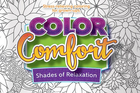 Adult coloring book   July 19, 2016