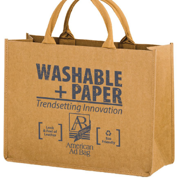 Ride the Wave to Washable Paper Bags   Aug 2, 2017