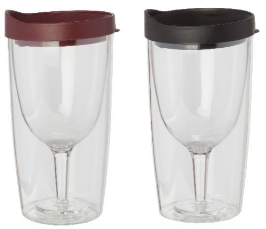 Party goers' wine tumbler    Feb. 27, 2018